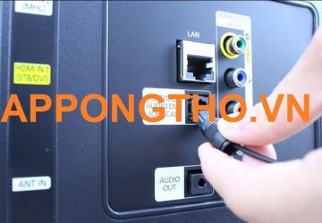 Tivi Sony không nhận tín hiệu cổng AV, HDMI là bị sao?