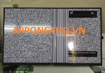 Màn hình Tivi Sony chỉ sáng nửa trên hoặc nửa dưới