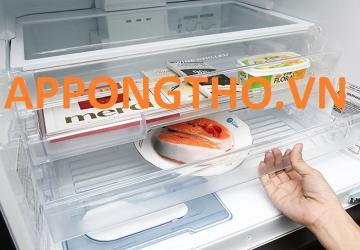 Ngăn dưới tủ lạnh Hitachi không đủ độ lạnh