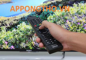 tivi Sony không nhận khiển từ xa phím cơ không có tác dụng?
